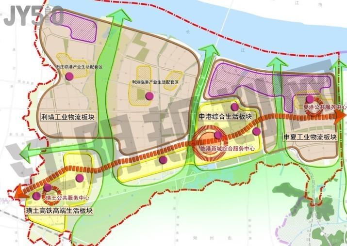 江阴临港新城总体规划 2011 2030 江阴论坛 江阴房产网 江高清图片