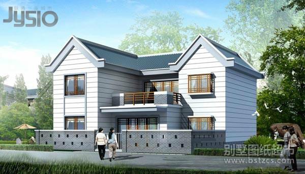 2013 建房设计图-农村盖房设计大全 三十万以内的别墅