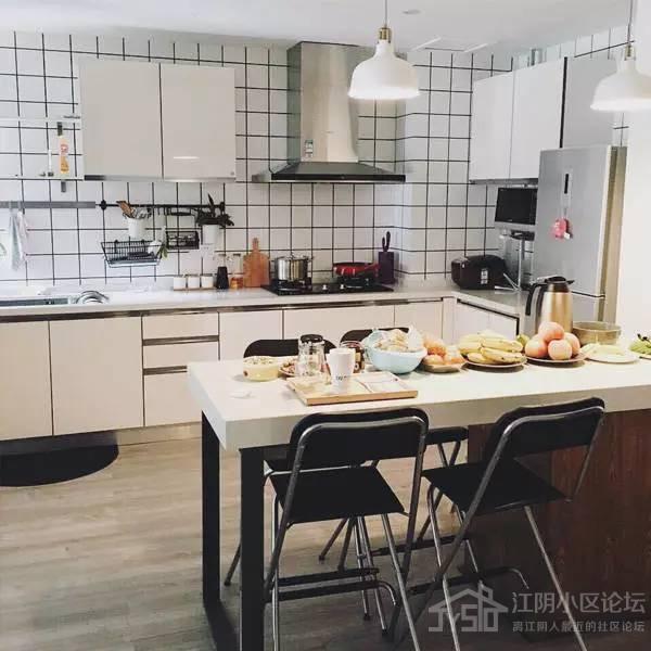 匠装饰邀您赏析北欧风格厨房装修效果图赏析,整体橱柜要这么配色